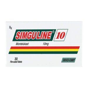 Simguline 10 Hộp 30 Viên - Thuốc Điều Trị Hen Suyễn