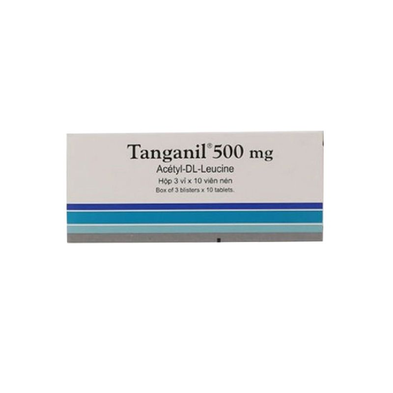 Tanganil 500mg Hộp 30 Viên - Điều Trị Loạn Tiền Đình