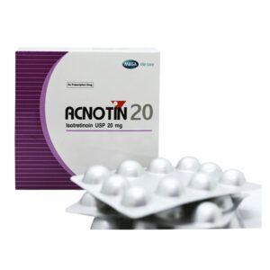 Acnotin 20 - Hộp 3 Vỉ x 10 Viên - Tạm Biệt Nỗi Lo Mụn Trứng Cá