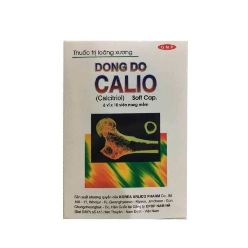 Calio Hộp 60 Viên - Trị Loãng Xương Sau Mạn Kinh