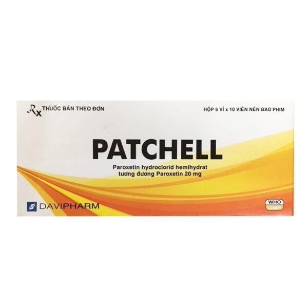 Patchell Hộp 60 Viên - Thuốc Chống Trầm Cảm