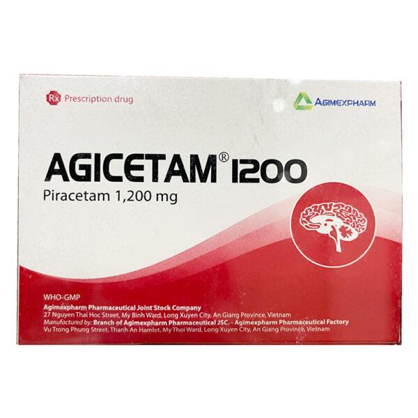 Thuốc Agicetam 1200 - Điều Trị Bệnh Về Rối Loạn Trung Khu Não Bộ