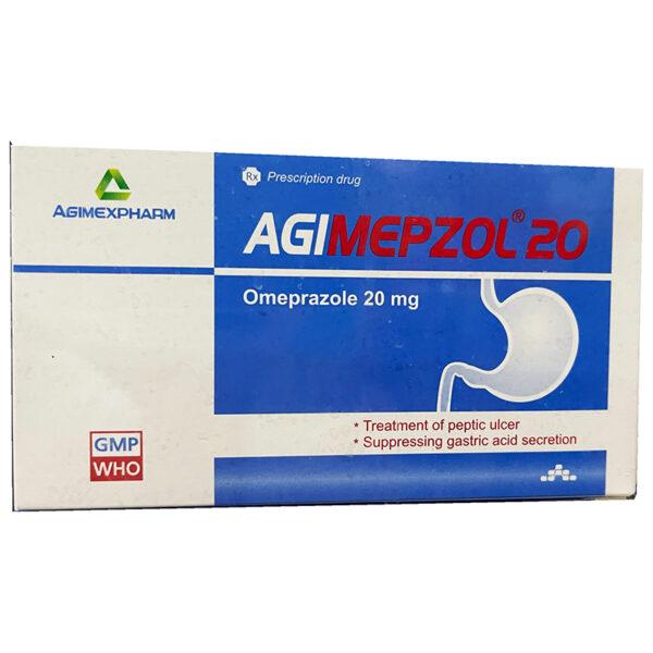 Thuốc Agimepzol 20 - Hộp 100 - Điều Trị Bệnh GERD
