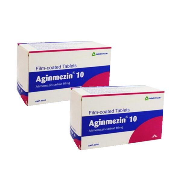 Thuốc Aginmezin 10 - Điều Trị Dị Ứng Hô Hấp