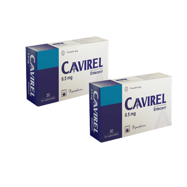 Cavirel Hộp 30 Viên - Thuốc Trị Viêm Gan B