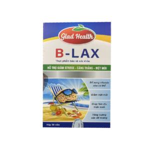 Glad Health B Lax Hộp 30 Viên - Vi Chất Cần Thiết Cho Não Bộ