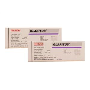 Glaritus 100 IU/ml Hộp 1 Ống - Thuốc Trị Tiểu Đường