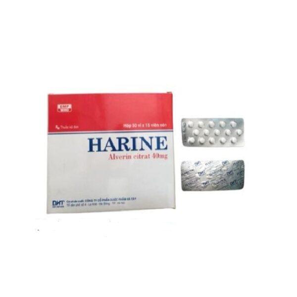 Harine - Hộp 750 Viên  - Điều Trị Co Thắt Ruột Và Tử Cung