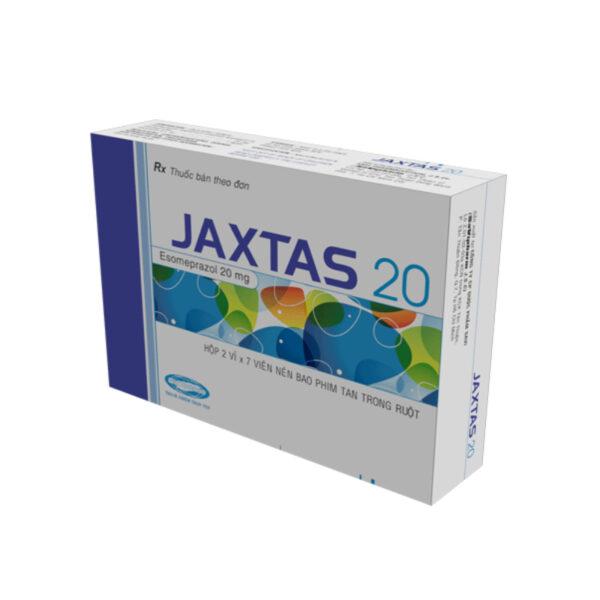 Jaxtas 20 - Hộp 14 Viên - Điều Trị Trào Ngược Dạ Dày