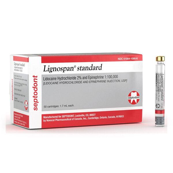 Lignospan Standard Hộp 50 Ống - Gây Tê Tại Chỗ