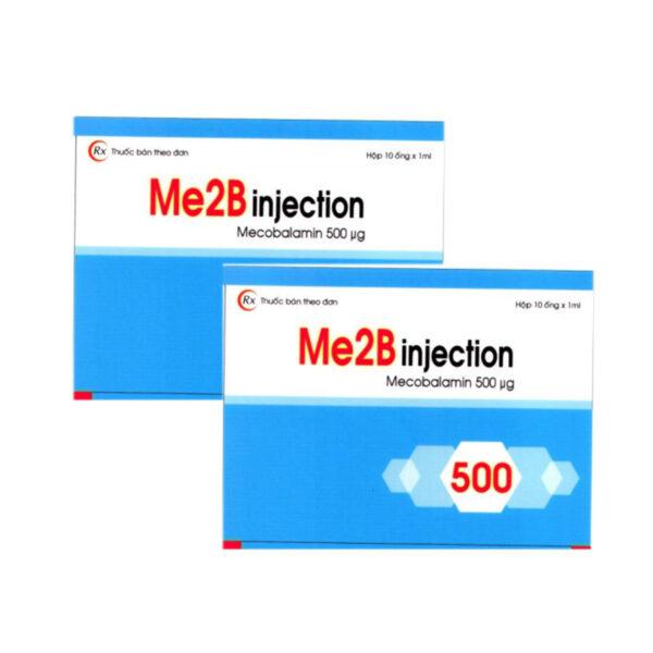 Me2B Injection  Hộp 10 Ống - Trị Bệnh Thần Kinh Ngoại Biên