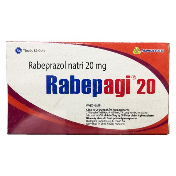 Thuốc Rabepagi 20 - Điều Trị Chứng Trào Ngược Dạ Dày-Thực Quản