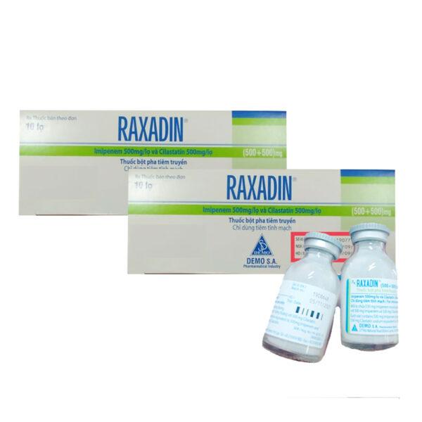 Raxadin Hộp 10 Lọ - Thuốc Kháng Sinh