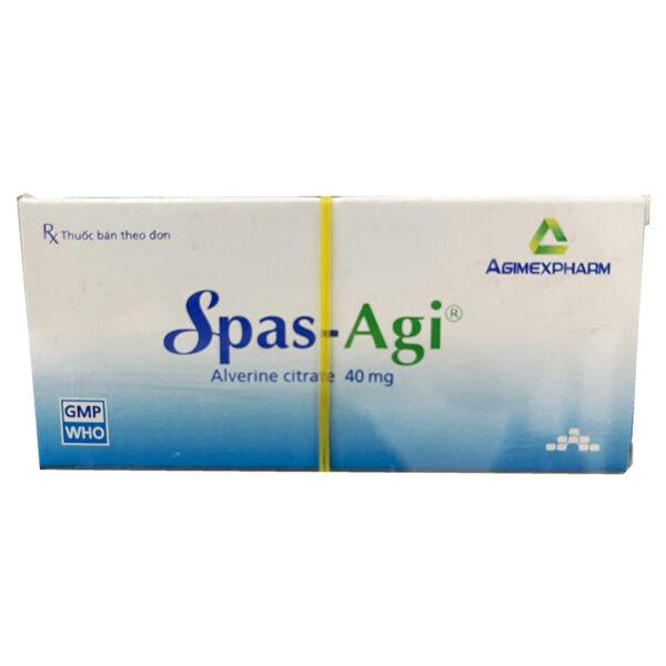 Thuốc Spas-agi 40mg Agimexpharm - Chống Co Thắt Cơ Trơn