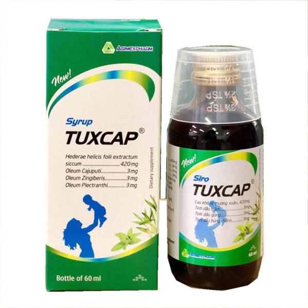 Syrup Tuxcap Agimexpharm - Chai 60ml - Bổ Phế, Giảm Ho, Long Đờm