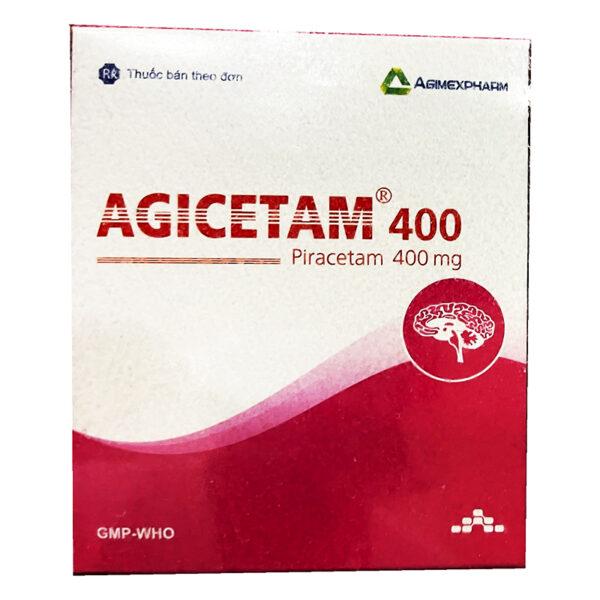 Thuốc Agicetam 400 - Hộp 100 Viên - Điều Trị Rối Loạn Não