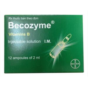 Becozyme Hộp 12 Ống - Bổ Sung Vitamin Nhóm B