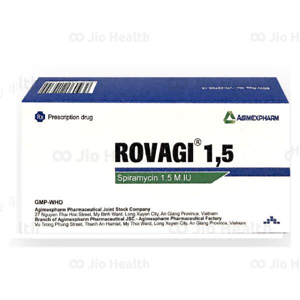 Thuốc Rovagi 1,5 Agimexpharm - Kháng Sinh Kháng Khuẩn