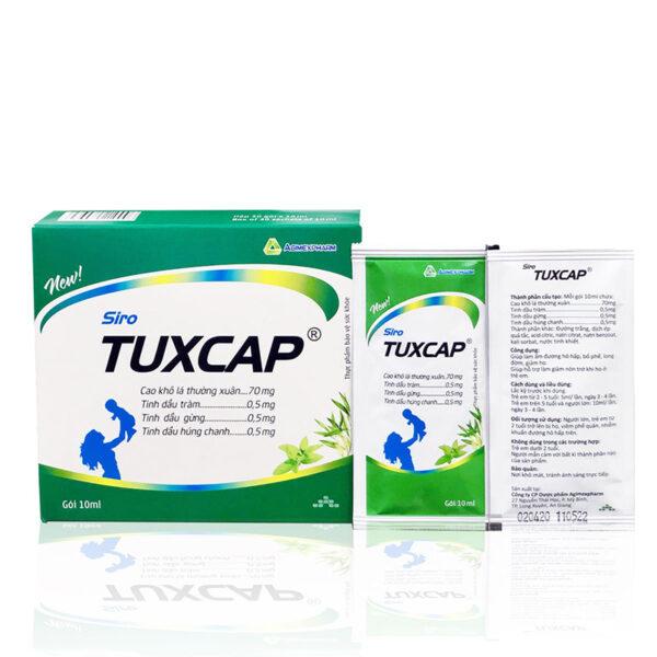 Siro Tuxcap 10ml Agimexpharm - Giảm Ho, Giảm Đau Rát Họng