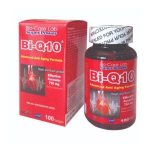Bi-Q10 Lọ 100 Viên - Ngừa Bệnh Tim Mạch Tăng Sức Đề Kháng