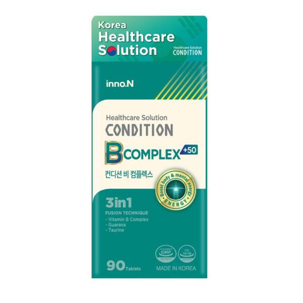 Condition Bcomplex - Hôp 90 Viên - Hỗ Trợ Tái Tạo Năng Lượng