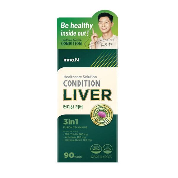 Condition Liver - Hộp 90 Viên - Hỗ Trợ Chưc Năng Gan