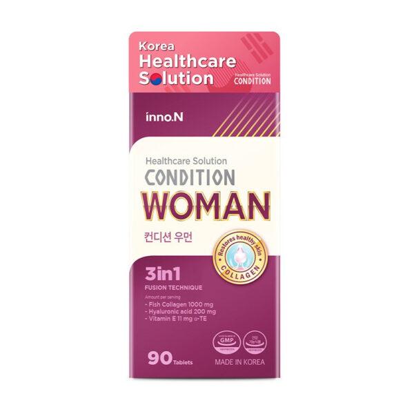 Condition Woman - Hộp 90 Viên - Dưỡng Ẩm, Chống Lão hóa Da