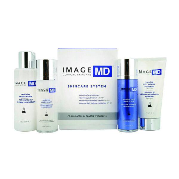 IMAGE MD Skincare System - Bộ 4 Sản Phẩm - Trẻ Hóa Làn Da