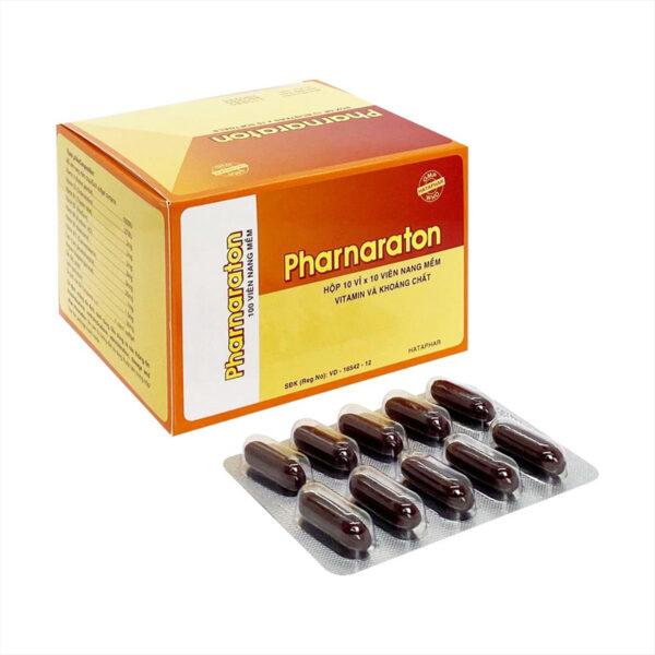 Pharnaraton Hộp 100 Viên - Bổ Sung Vitamin Và Khoáng Chất