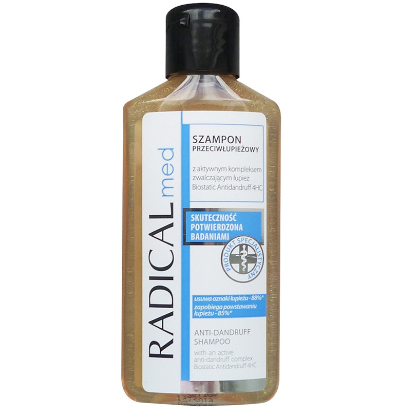 Radical Med Dandruff Shampoo Chai 100ml
