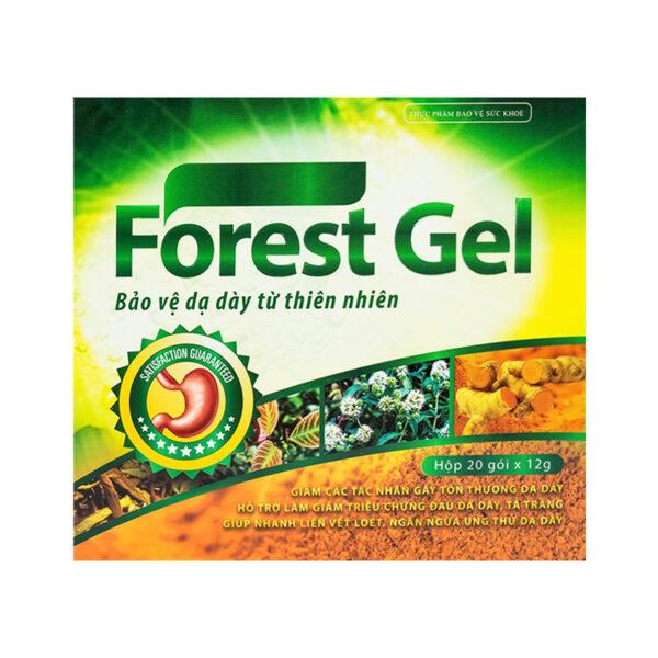 Forest Gel Hộp 20 Gói - Giảm Các Tác Nhân Tổn Thương Dạ Dày