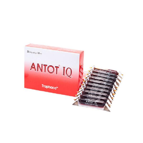 Antot IQ Traphaco - Hộp 20 Ống - Bổ Sung Vitamin Cần Thiết