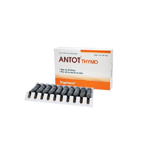 Antot Thymo Traphaco - Hộp 20 Ống - Bồi Bổ, Phục Hồi Sức Khỏe