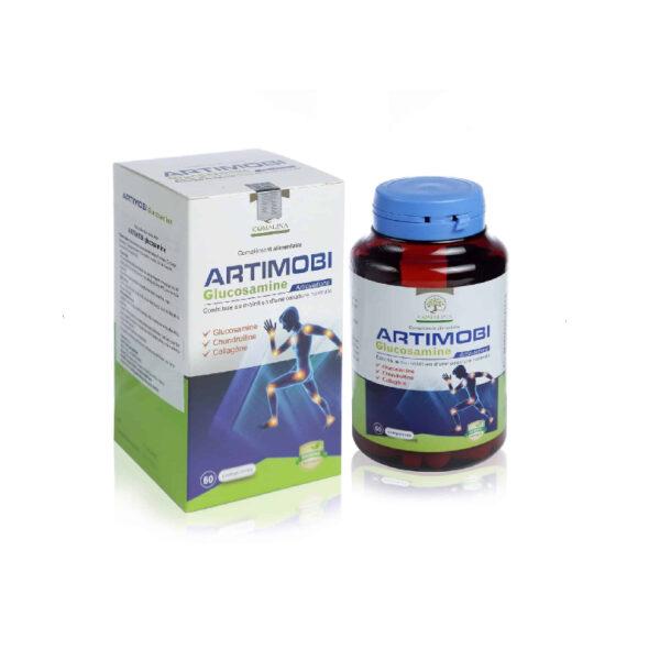 Artimobi Glucosamine - Hộp 60 Viên - Cho Xương Khớp Khỏe Mạnh
