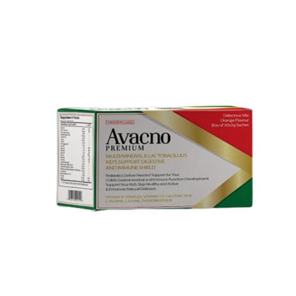 Avacno Premium - Hộp 60 Gói - Tăng Cường Sức Đề Kháng