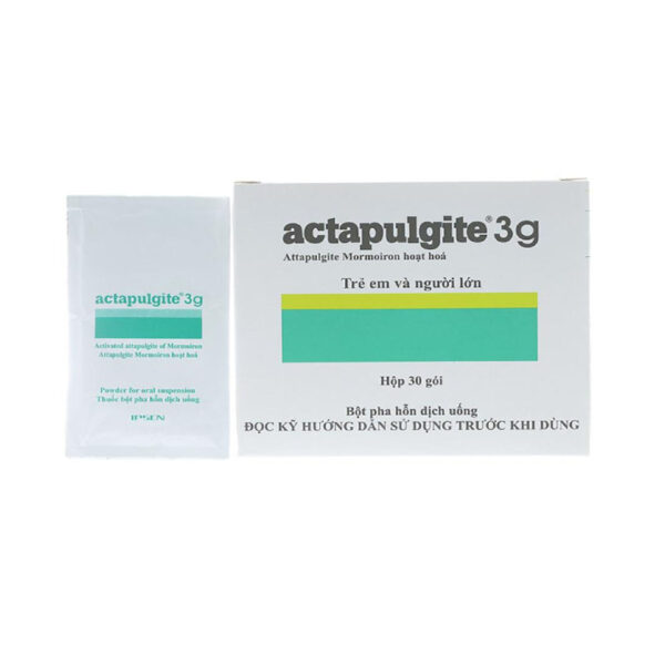 Actapulgite 3g Hộp 30 Gói - Hỗ Trợ Giảm Tiêu Chảy
