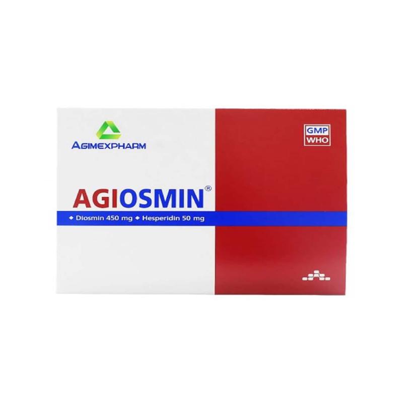 Agiosmin Agimexpharm Hộp 60 Viên