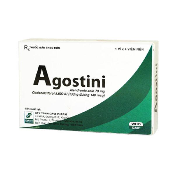 Agostini Hộp 4 Viên - Phòng Gãy Xương Do Loãng Xương