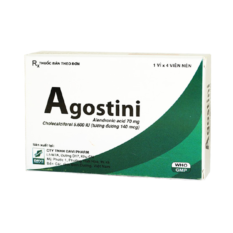 Agostini Hộp 4 Viên