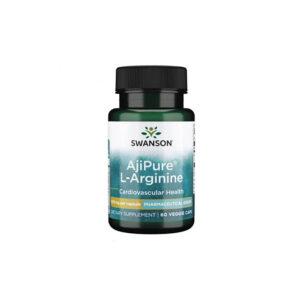 AjiPure L-Arginine Lọ 60 Viên - Hỗ Trợ Giảm Huyết Áp