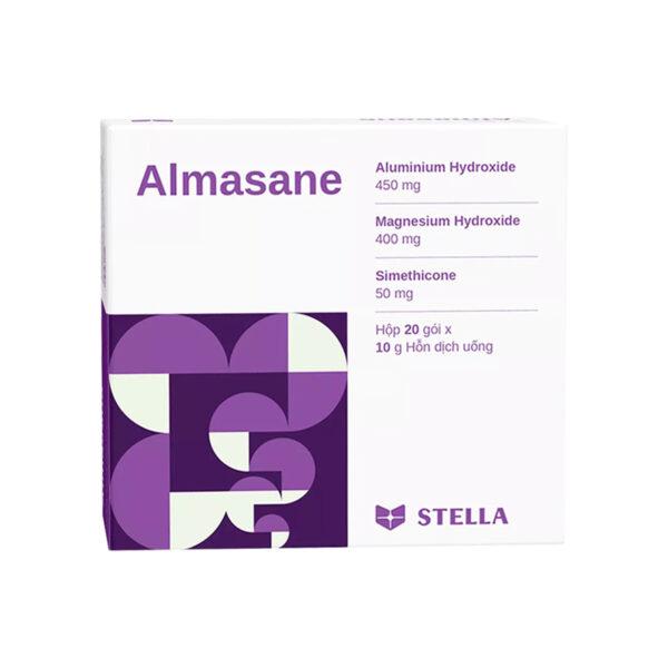 Almasane Hộp 20 Gói - Làm Dịu Triệu Chứng Khó Tiêu