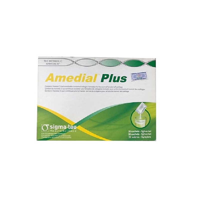 Amedial Plus Hộp 30 Gói