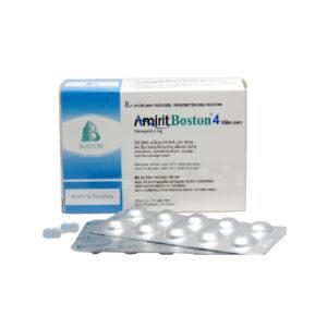 Amirit Boston 4 Hộp 50 Viên - Thuốc Điều Trị Tiểu Đường