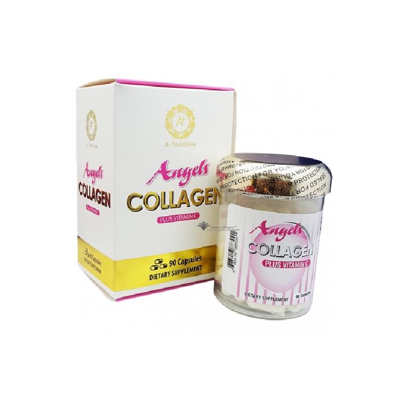 Angels Collagen Plus Vitamin C Hộp 90 Viên
