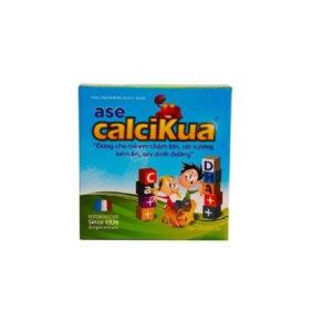 Ase Calcikua - Hộp 10 Gói - Tăng Cường Hấp Thu Canxi