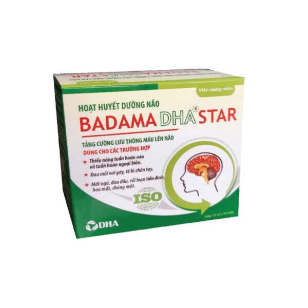 Badama DHA Star - Hộp 100 Viên - Viên Uống Bổ Não