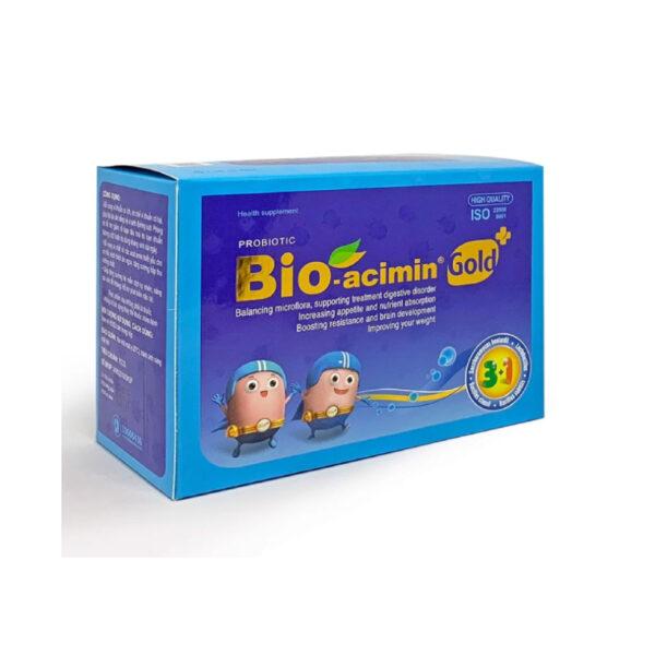Bio-Acimin Gold - Hộp 30 Gói - Giảm Rối Loạn Tiêu Hóa