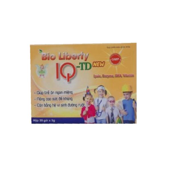 Bio Liberty IQ-TD - Hộp 20 Gói - Bổ Sung Lysine, Vitamin