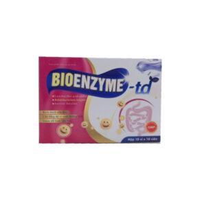 Bioenzyme TD - Hộp 100 Viên - Bổ Sung Lợi Khuẩn Tiêu Hóa