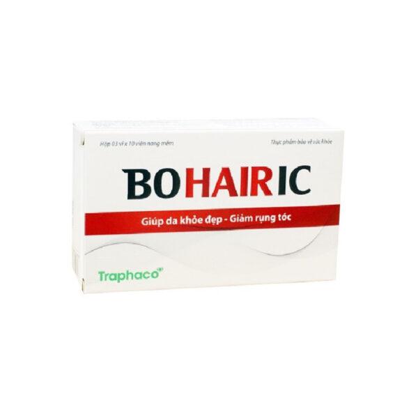 Bohairic - Hộp 30 Viên - Giảm Tóc Bạc Sớm, Làm Đen Tóc